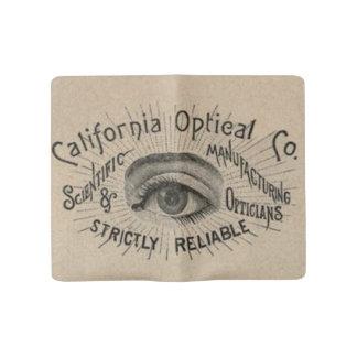 Vintage Advertising Optical Eye Large Moleskine Notebook