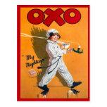 Vintage advertising, Oxo, my nightcap Post Cards