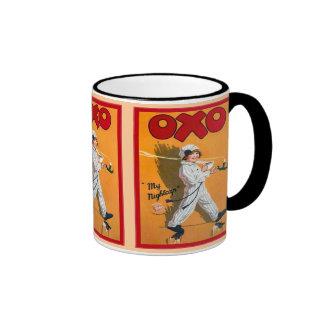 Vintage advertising, Oxo, my nightcap Ringer Coffee Mug