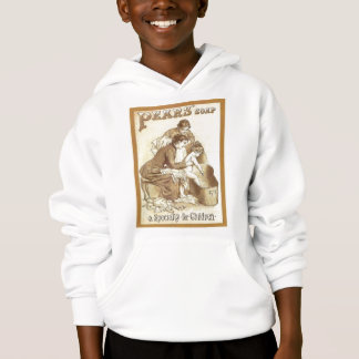 Vintage advertising, Pears soap for children Hoodie