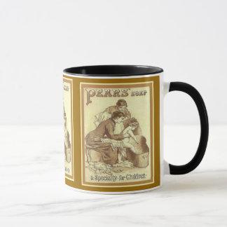 Vintage advertising, Pears soap for children Mug