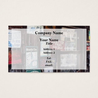 Vintage Advertising Signs Business Card