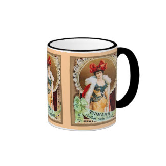 Vintage advertising, Tidmans Herbal Skin Soap Ringer Coffee Mug