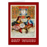 Vintage advertising, Travel poster Madrid Card