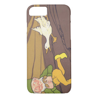 Vintage Aesop Fable Goose that Laid the Golden Egg iPhone 7 Case