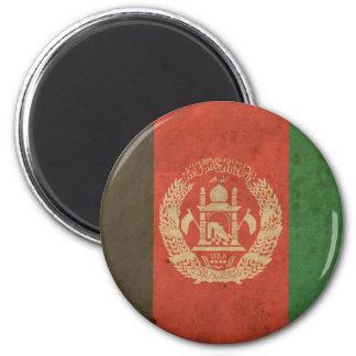 Vintage Afghanistan Flag 2 Inch Round Magnet