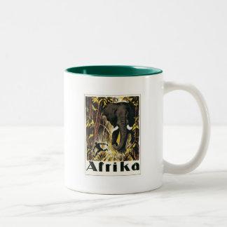 Vintage África Tazas