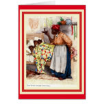 Vintage African American Christmas Caed Card