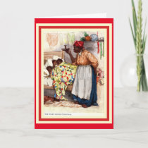 Vintage African American Christmas Caed Holiday Card