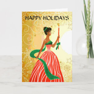 african american christmas cards zazzle