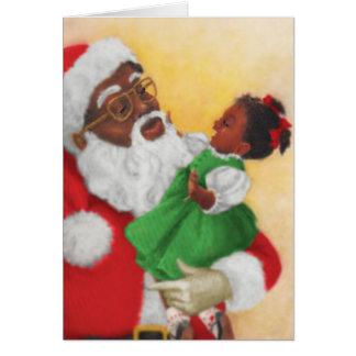 Vintage African American Christmas Card