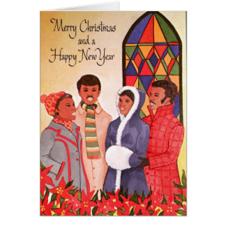 African American Christmas Cards - Invitations, Greeting & Photo ...