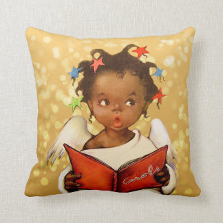 Vintage African American Christmas Pillows