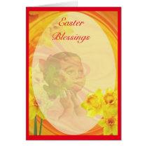 Vintage African American Easter Card