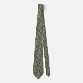 Vintage African Elephant in the Jungle, EJ Detmold Neck Tie