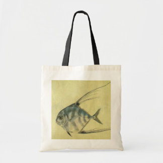 Vintage African Pompano Fish, Threadfin Trevally Bags