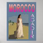Vintage Agadir Impresiones