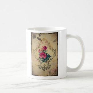 Vintage agarrado tazas de café