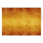 Vintage Aged Amber Burnt Umber Parchment Paper Stationery Note Card