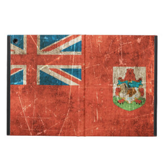 Vintage Aged and Scratched Flag of Bermuda Case For iPad Air