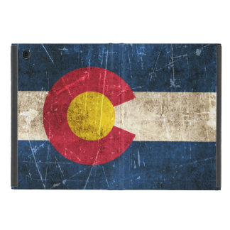 Vintage Aged and Scratched Flag of Colorado Case For iPad Mini