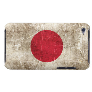 Vintage Aged and Scratched Flag of Japan Case-Mate iPod Touch Case