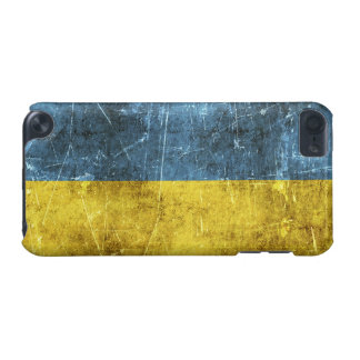 Vintage Aged and Scratched Flag of Ukraine iPod Touch 5G Cover