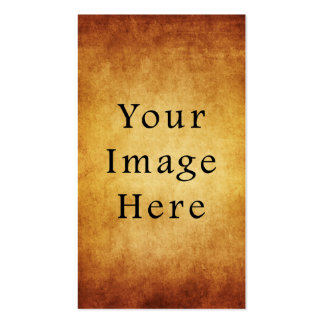 Vintage Aged Harvest Gold Parchment Paper Blank Business Cards