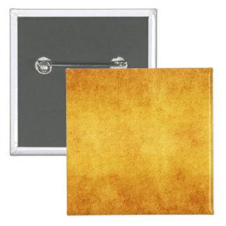 Vintage Aged Parchment Paper Template Blank Button