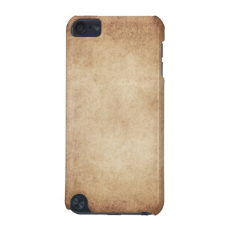 Vintage Aged Parchment Paper Template Blank iPod Touch (5th Generation) Cover