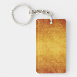 Vintage Aged Parchment Paper Template Blank Acrylic Keychain