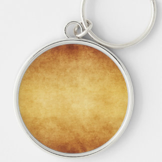 Vintage Aged Parchment Paper Template Blank Keychains