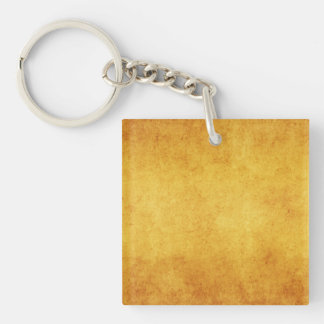 Vintage Aged Parchment Paper Template Blank Acrylic Keychains
