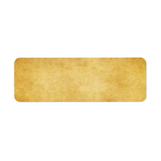 blank shipping label