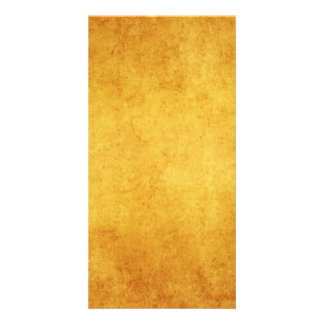 Vintage Aged Parchment Paper Template Blank Customized Photo Card