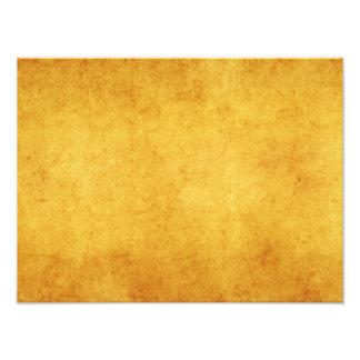 Vintage Aged Parchment Paper Template Blank Photo Print