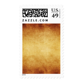 Vintage Aged Parchment Paper Template Blank Postage Stamp