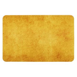Vintage Aged Parchment Paper Template Blank Rectangular Photo Magnet