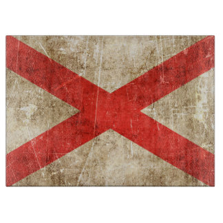 Vintage Aged Scratched Flag of Northern Ireland Cutting Boards