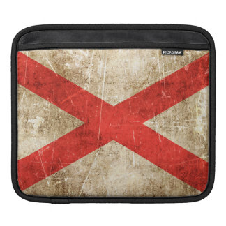 Vintage Aged Scratched Flag of Northern Ireland Sleeves For iPads