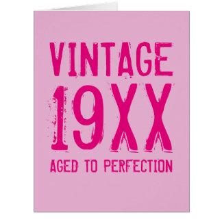 womens funny vintage birthday cards  zazzle, Birthday card