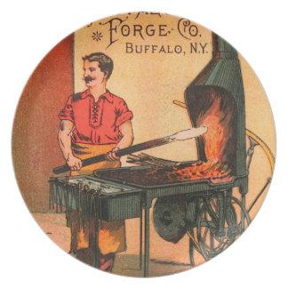 Vintage : agriculture advertising - melamine plate