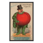 Vintage : agriculture advertising - poster