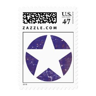 Vintage Air-Force Star Postage Stamp
