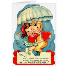 Vintage Air Force Valentine's Day Card