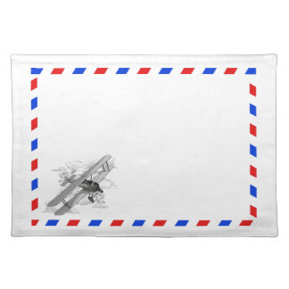 Vintage Air Mail Place Mats