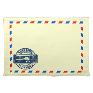 Vintage Air Mail Placemats