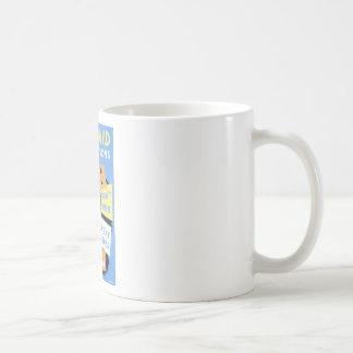 Vintage Air Raid Precautions WPA Poster Coffee Mug