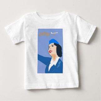 Vintage Air travel Baby T-Shirt