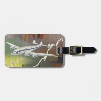 Vintage Air Travel Luggage Tags